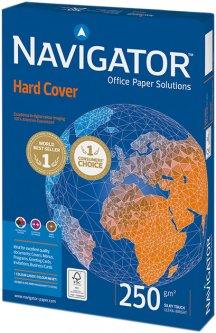 Бумага Navigator Hard Cover А4 250 г/м² класс А 125 листов Белая (5602007989453)