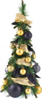 Искусственная елка Новогодько (YES! Fun) 0.65 м с украшениями Золотой вечер (904292) (4820079042925)