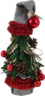 Искусственная елка Новогодько (YES! Fun) 0.38 м с украшениями Дед Мороз (904287) (4820079042871)