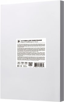 Пленка для ламинации 2E A4 216 х 303 мм 150 мкм Глянцевая (2E-FILM-A4-150G)