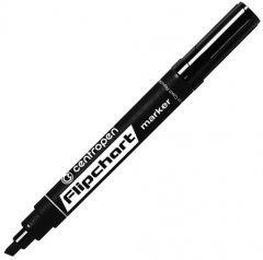 Набор маркеров для флипчартов Centropen Flipchart 1-4.6 мм Чёрный 10 шт (8560/01) (8595013616901)