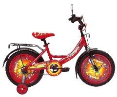 """Детский велосипед Ardis Ну Погоди 16"""" 9"""" 2021 Красный (04258)"""