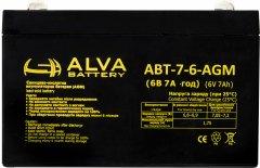Аккумуляторная батарея Altek АВТ-6-7-AGM 6V 7Ah (2111150)