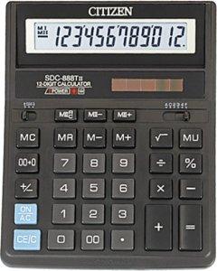 Калькулятор электронный Citizen 12-разрядный (SDC-888TII)