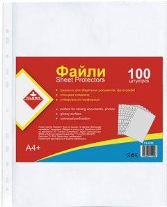Набор файлов-карманов KLERK А4 25 мкм прозрачных глянцевых 100 шт (Я13484_KL0025)