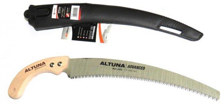 Ножовка садовая с чехлом Altuna 330 мм японская заточка (J425.A) - изображение 1