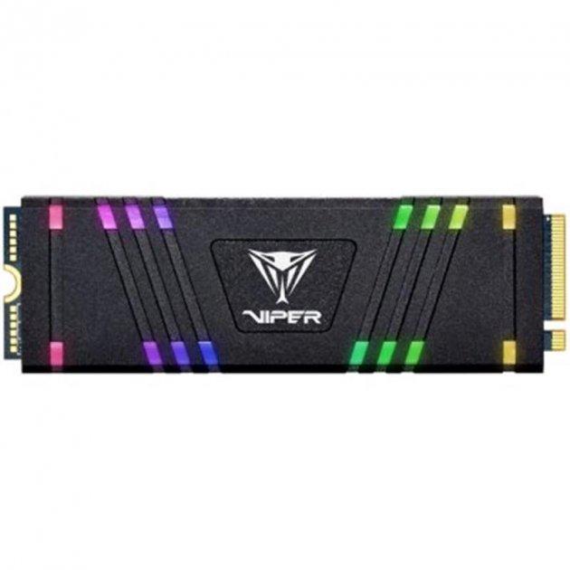 Накопичувач SSD 512GB Patriot VPR100 RGB M. 2 2280 PCIe 3.0 x4 3D TLC (VPR100-512GM28H) - зображення 1