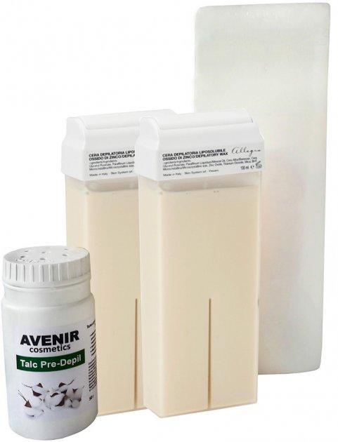 Набор для депиляции Avenir Cosmetics №2 (4820440814540) - изображение 1