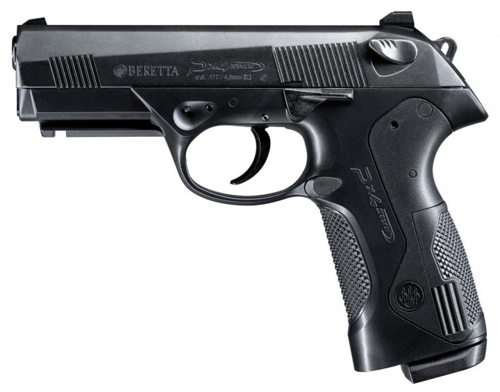 Пистолет пневматический Umarex Beretta Px4 Storm черный (5.8078) - изображение 1