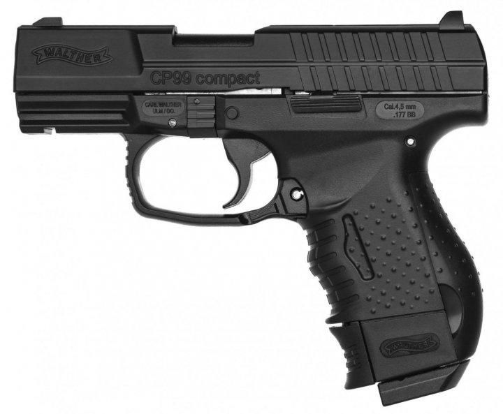 Пистолет пневматический Umarex Walther CP99 Compact черный (5.8064) - зображення 1