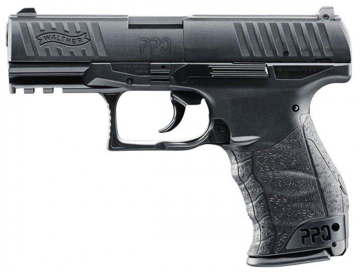 Пистолет пневматический Umarex Walther PPQ черный (5.8160) - изображение 1