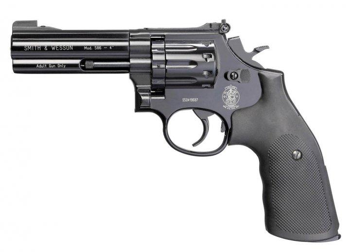 """Револьвер пневматический Umarex Smith & Wesson 586 4"""" - зображення 1"""