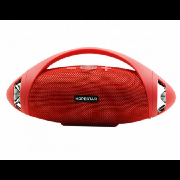 Портативна bluetooth стерео колонка спікер Hopestar H37 Червоний - зображення 1