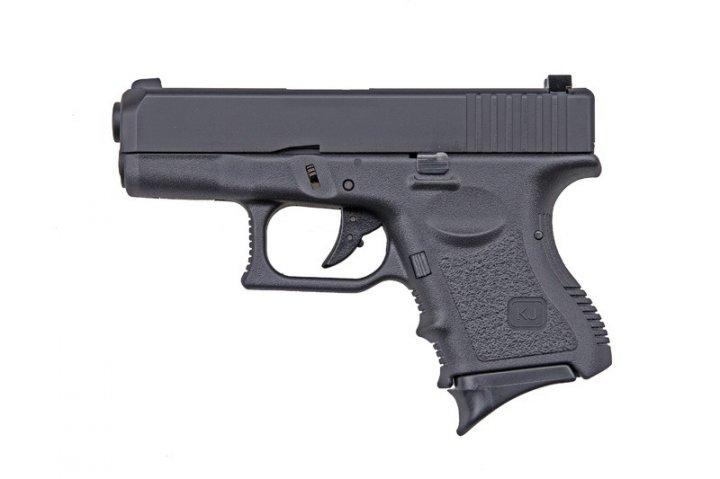 Пістолет KJW Glock 27 Plastic Slide GBB (Страйкбол 6мм) - зображення 1