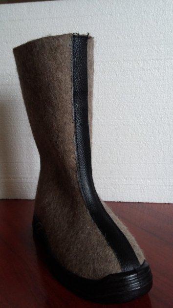 Валенки мужские WINTER на легкой подошве р.44 коричневый - изображение 1