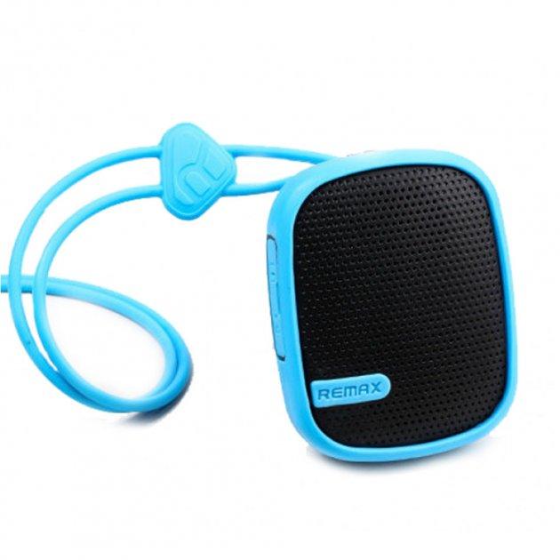 Портативная Bluetooth колонка Remax RB-X2 Mini Blue (12888) - изображение 1