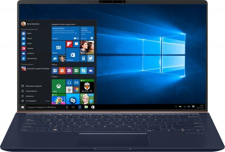 Ноутбук ASUS ZenBook 14 UX433FAC-A5139T (90NB0MQ5-M02040) Royal Blue - зображення 1