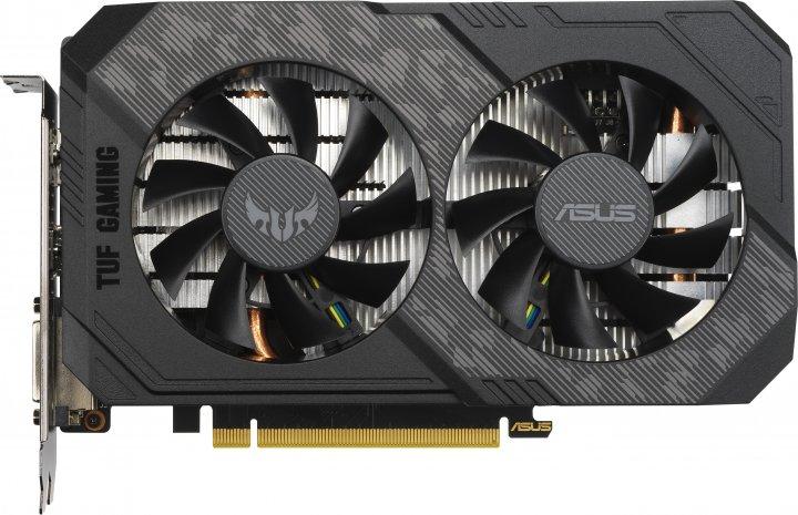 Asus PCI-Ex GeForce GTX 1650 Super TUF Gaming 4GB GDDR6 (128bit) (1530/12002) (DVI, HDMI, DisplayPort) (TUF-GTX1650S-4G-GAMING) - зображення 1