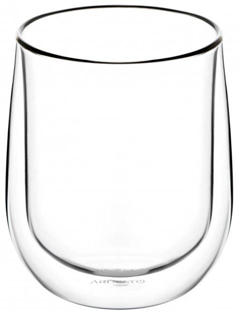 Набор чашек Ardesto для латте с двойным дном 360 мл 2 шт (AR2636G) - изображение 1