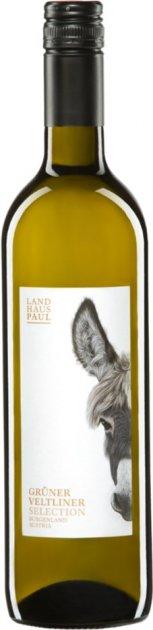 Вино Landhaus Paul Qw Burgenland Osterreich Gr Veltliner Cc белое сухое 0.75 л 12% (9120007313130) - изображение 1