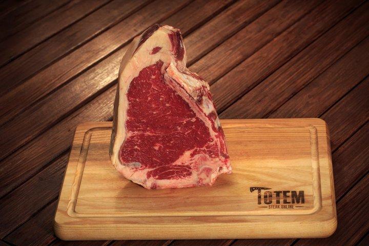 Стейк ТОТЕМ СТЕЙК Клаб (Steak Club) сухої витримки 21+ днів M (300-400г) - изображение 1
