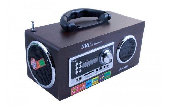 Портативная Акустическая Система UKC SPS 8963 - зображення 1