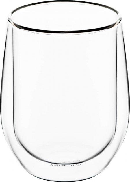 Набор чашек Ardesto для латте с двойным дном 250 мл 2 шт (AR2625G) - изображение 1