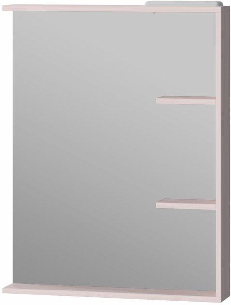 Зеркало JUVENTA Brooklyn BrM-65 85х65 см с LED-подсветкой белое - изображение 1