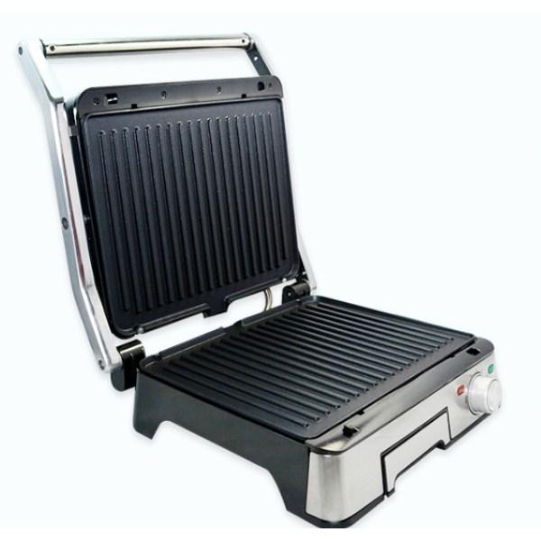 Гриль (электрогриль) сэндвичница 1800 Вт прижимной со съемными пластинами DSP KB-1045 - изображение 1