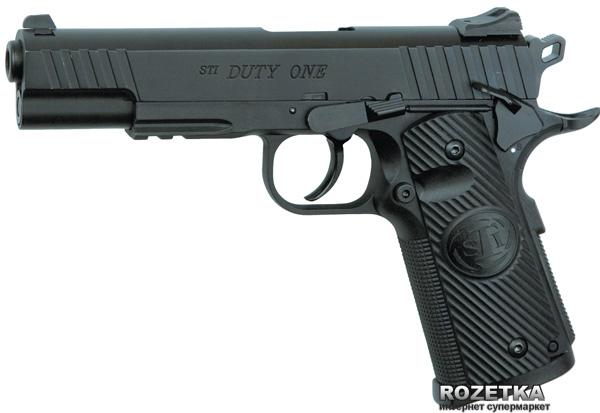 Пневматичний пістолет ASG STI Duty One Blowback (23702504) - зображення 1