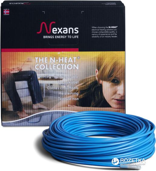Теплый пол Nexans TXLP/2R двухжильный кабель 300 Вт 1.8 — 2.2 м2 (20030017) - изображение 1