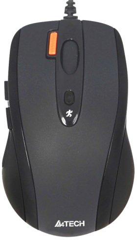 Миша A4Tech N-70FX-1 USB Black (4711421868617) - зображення 1