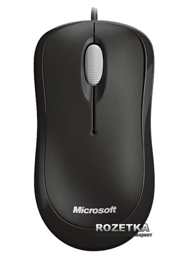 Миша Microsoft Basic USB Black (4YH-00007) - зображення 1