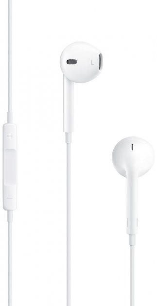 Навушники Apple iPhone EarPods with Mic (MNHF2ZM/A) - зображення 1