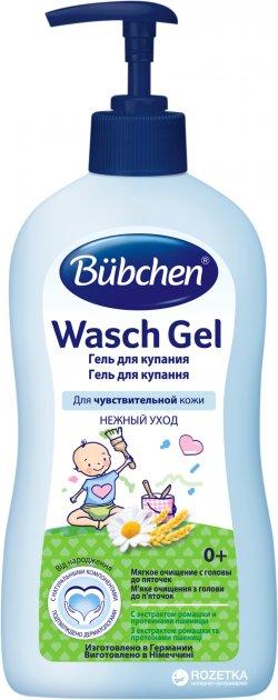 Гель для купания Bubchen 400 мл (7613031096299) - изображение 1