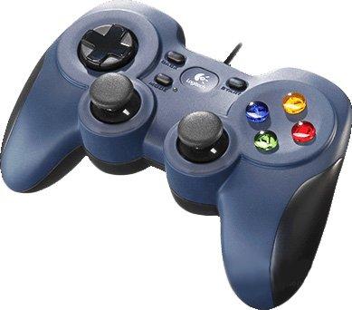 Дротовий геймпадLogitech F310 PC Black/Blue (940-000135/138) - зображення 1