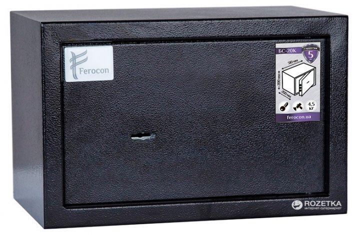 Сейф офисный FEROCON БС-20К.9005 - изображение 1