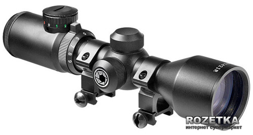 Оптичний приціл Barska Contour 3-9x42 (IR Mil-Plex) + Mounting Rings (920337) - зображення 1