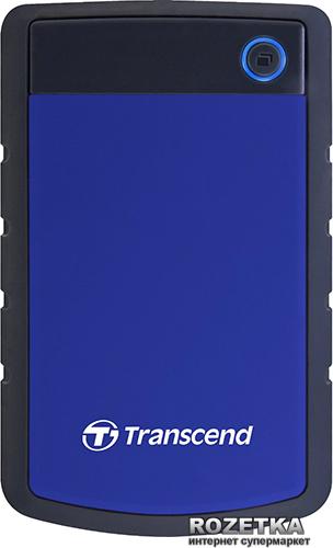 Жесткий диск Transcend StoreJet 25H3P 2TB TS2TSJ25H3B 2.5 USB 3.0 External - изображение 1