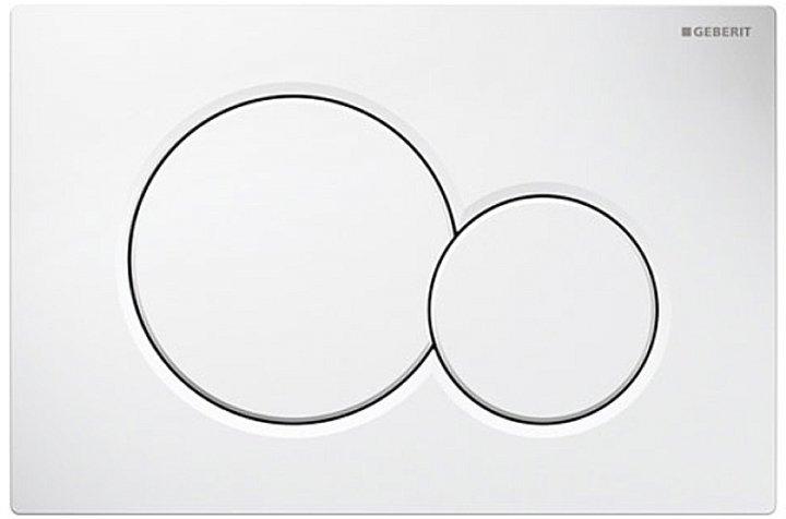 Панель смыва GEBERIT Sigma 01 белый 115.770.11.5 - изображение 1