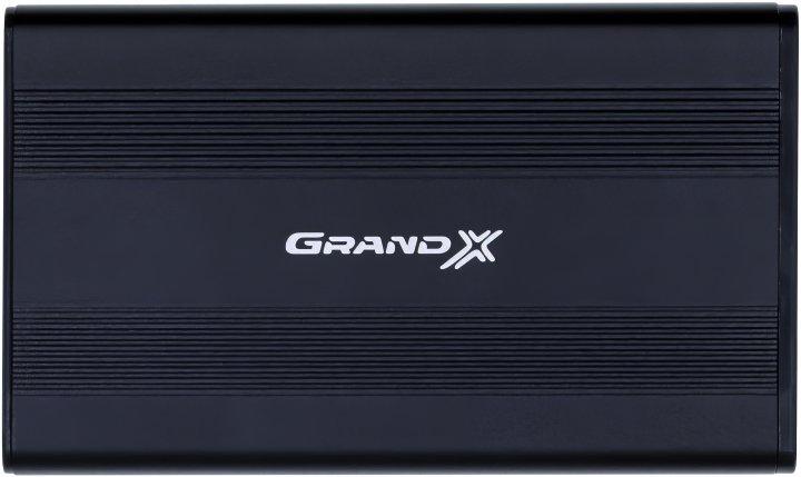 """Зовнішня кишеня Grand-X для HDD 2.5"""" USB 2.0 (HDE21) - зображення 1"""