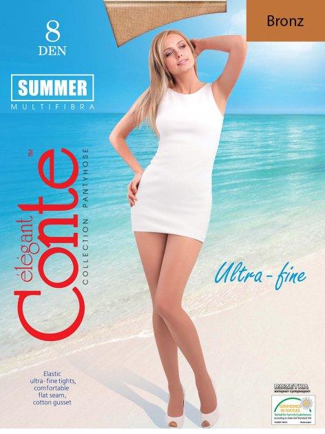 Колготки Conte Summer 8 Den 4 р Bronz -4810226047941 - изображение 1