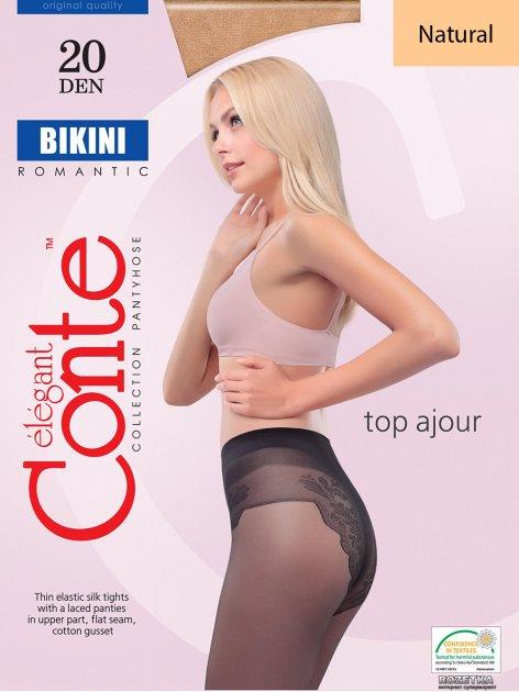 Колготки Conte Bikini 20 Den 2 р Natural -4810226005668 - изображение 1