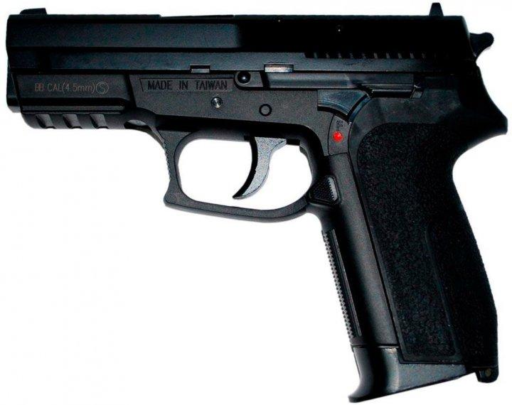 Пистолет пневматический KWC KM47D (Sig Sauer Pro 2022) Metal - зображення 1