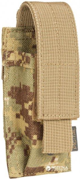 Подсумок для пистолетных магазинов P1G-Tac Single Pistol Mag Pouch SPMP P914006SOC Socom Camo (2000980341115) - изображение 1