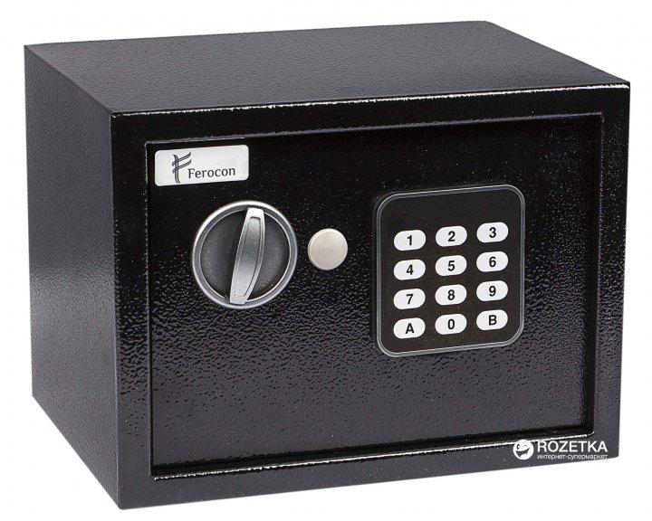 Сейф мебельный FEROCON БС-17Е.9005 - изображение 1