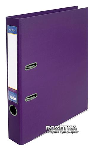Папка-регистратор Economix LUX А4 50 мм Фиолетовая (39722*-12)