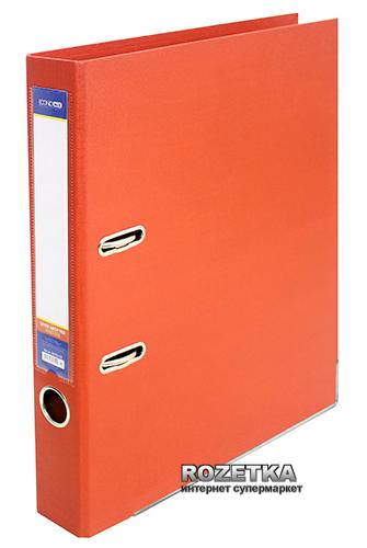 Папка-регистратор Economix LUX А4 50 мм Оранжевая (39722*-06)