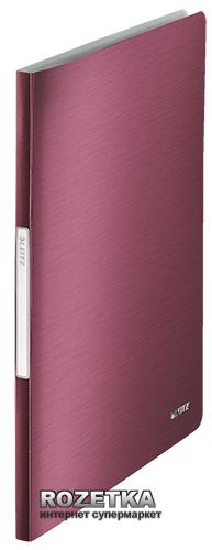 Папка пластиковая Leitz Style А4 20 файлов Красная (39580028)