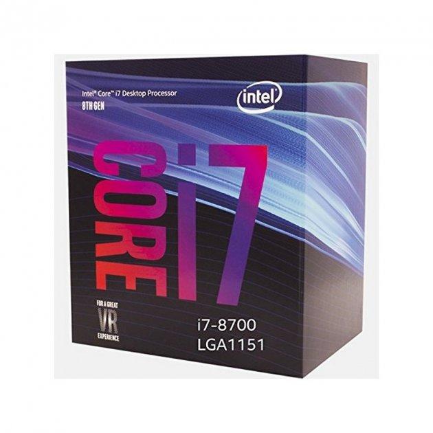 Intel Core i7-8700 (BX80684I78700) - зображення 1